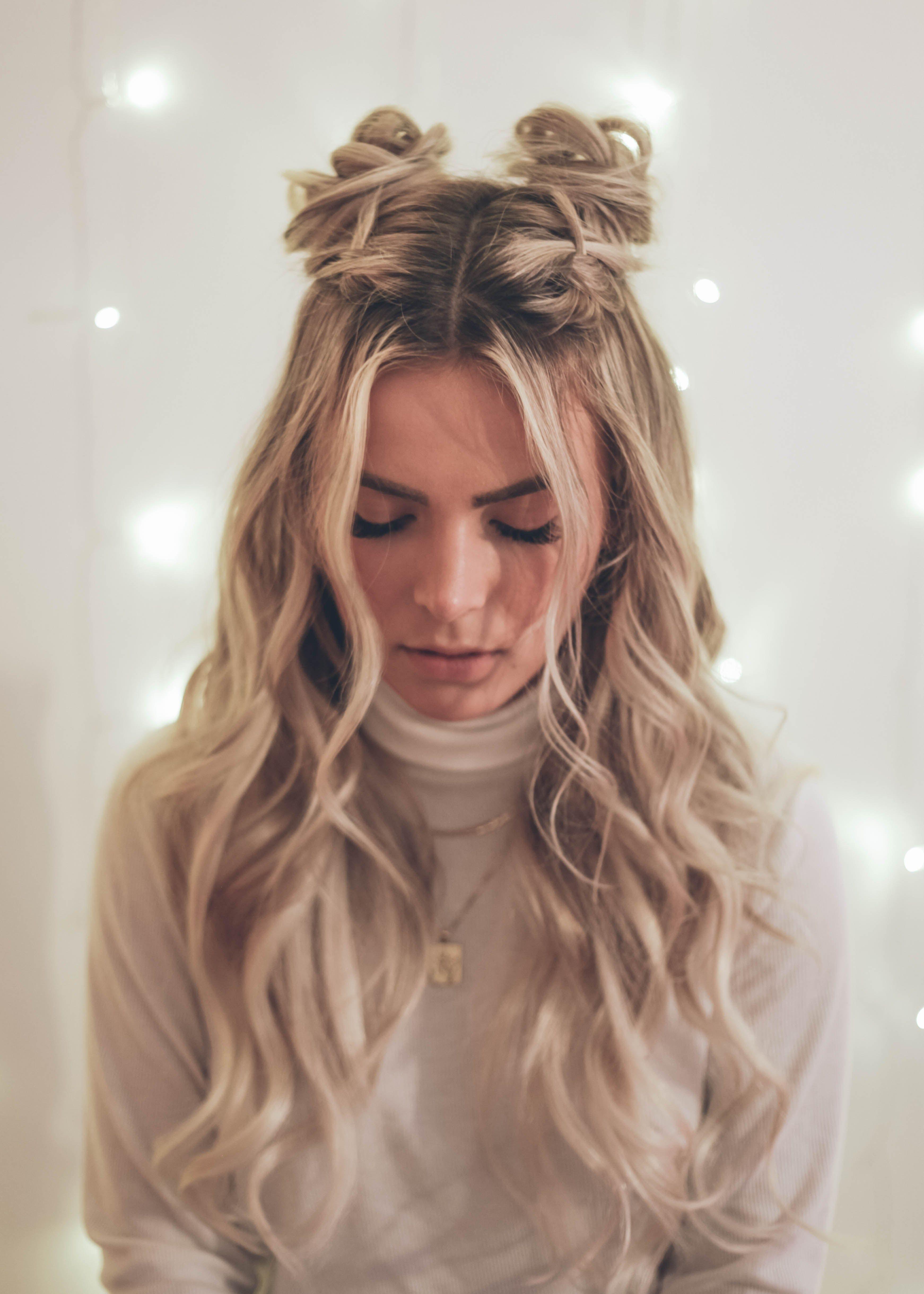 05 Holiday Hair Tutorial Kassinka Com Hair Styles Long Hair Styles Cute Hairstyles For Teens