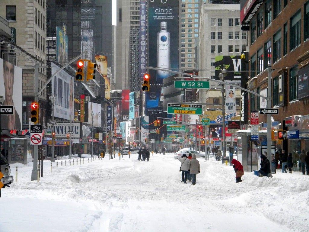 Winter New York live wallpaper APK Download Free