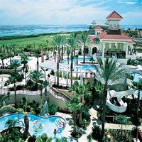 Hammock Beach Resort Water Park Pools Features 225 Guest Rooms Luxury Suites Villas
