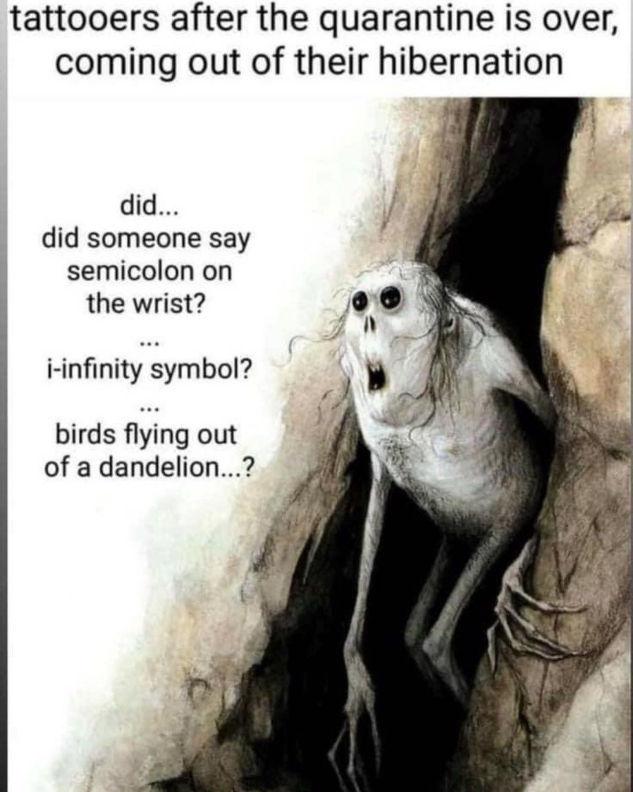 Yup Tattoolife Tattooartist Tattooer Memes Funny Jokes
