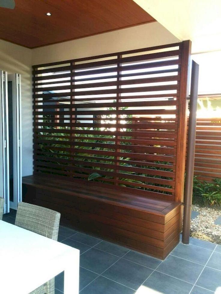 80 DIY Hinterhof Privatsphäre Zaun Ideen mit kleinem Budget - Harvey Clark #zaunideen