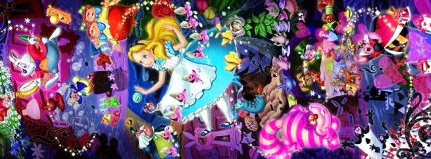 Alice In Wonderland Disney Facebook Timeline Cover Pics