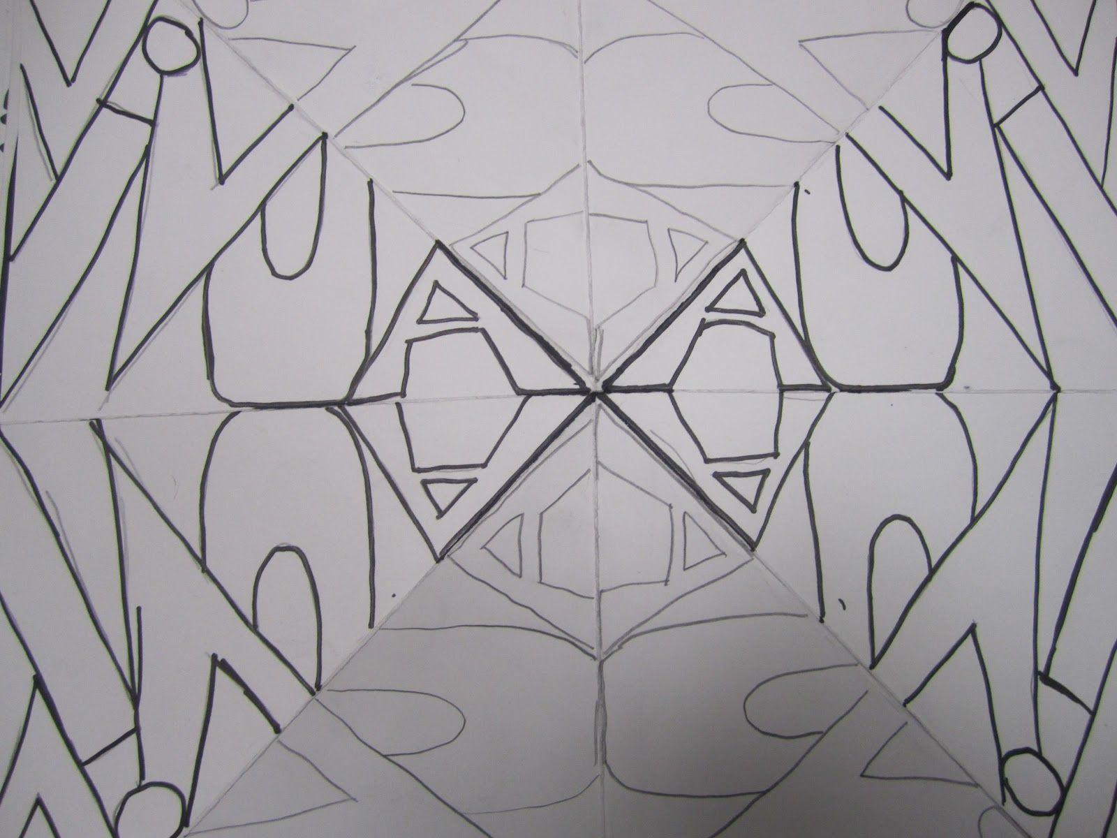 Name Mandala Lesson Yr 7 8