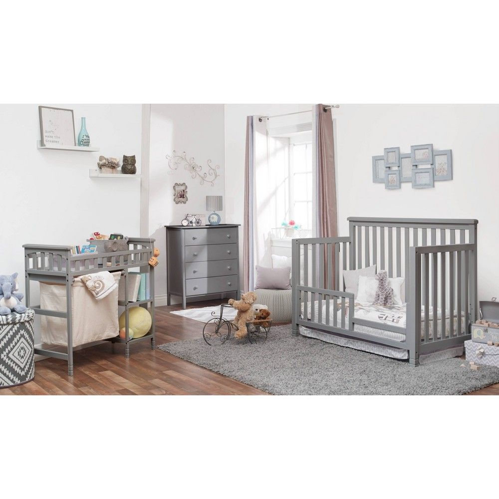 Sorelle Palisades Room In A Box Standard Full Sized Crib Gray In 2020 Nursery Furniture Sets Baby Furniture Sets Baby Nursery Furniture