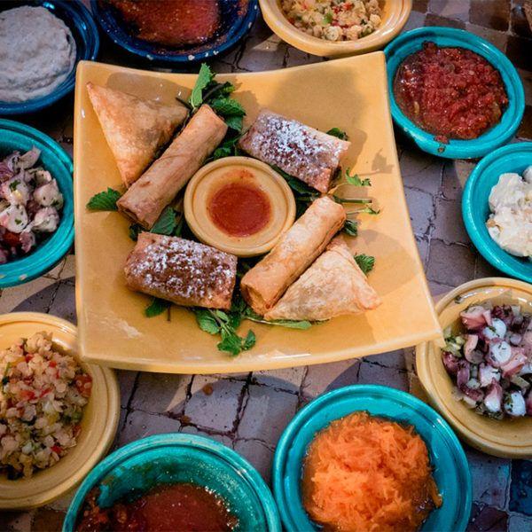 ¡La exótica y #única #gastronomía de #Marruecos!