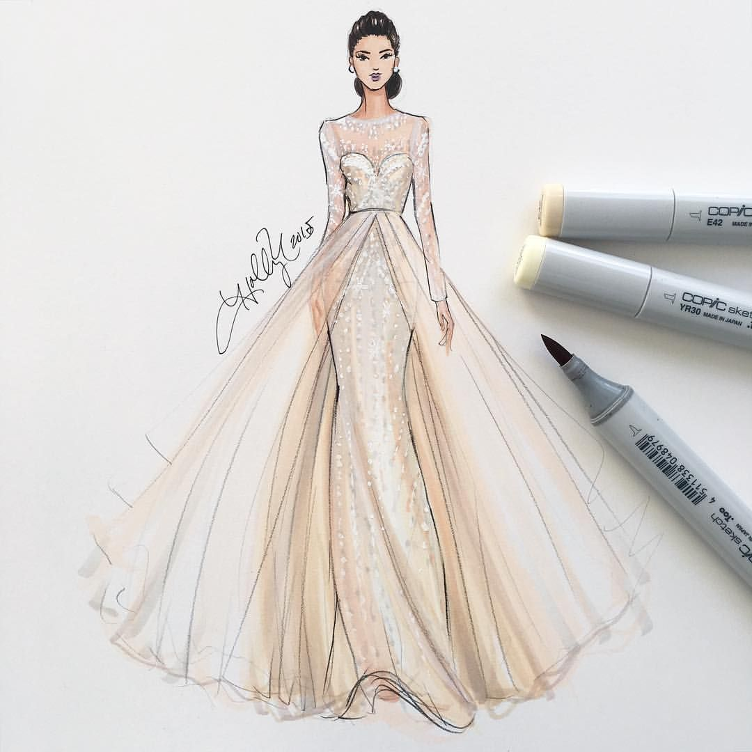 H. Nichols Illustration - Monique Lhuillier ...