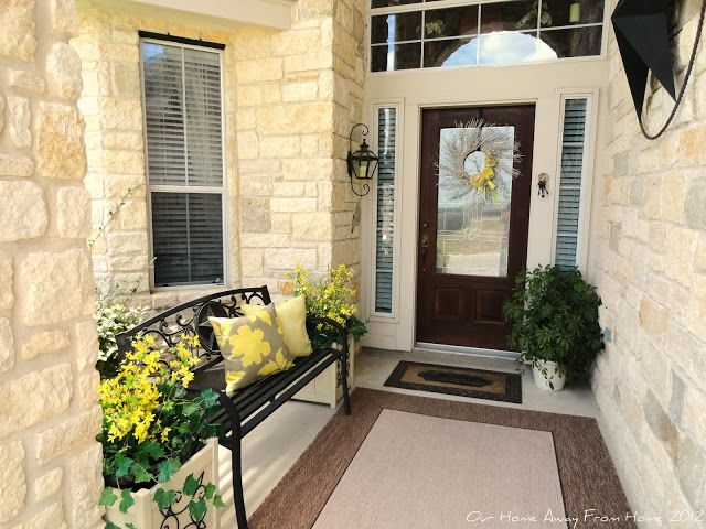 Patiently Waiting For Fall House With Porch Front Porch Design