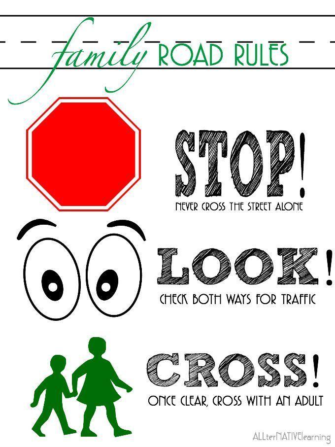 Traffic Signs Worksheet For Kindergarten