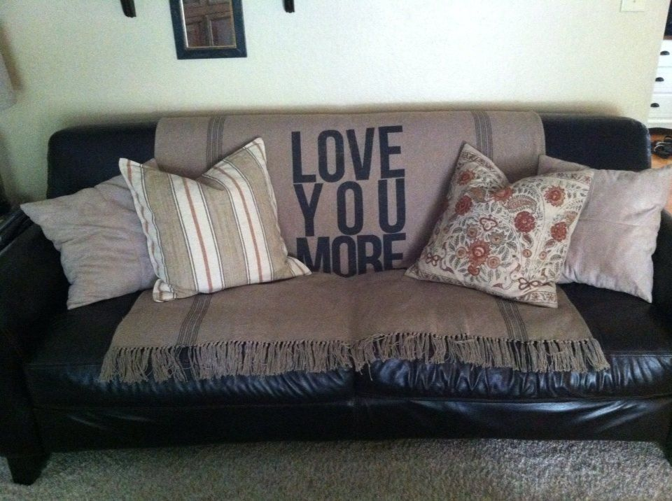 Fantastic My Love You More Throw Blanket I Purchased From Gmtry Best Dining Table And Chair Ideas Images Gmtryco
