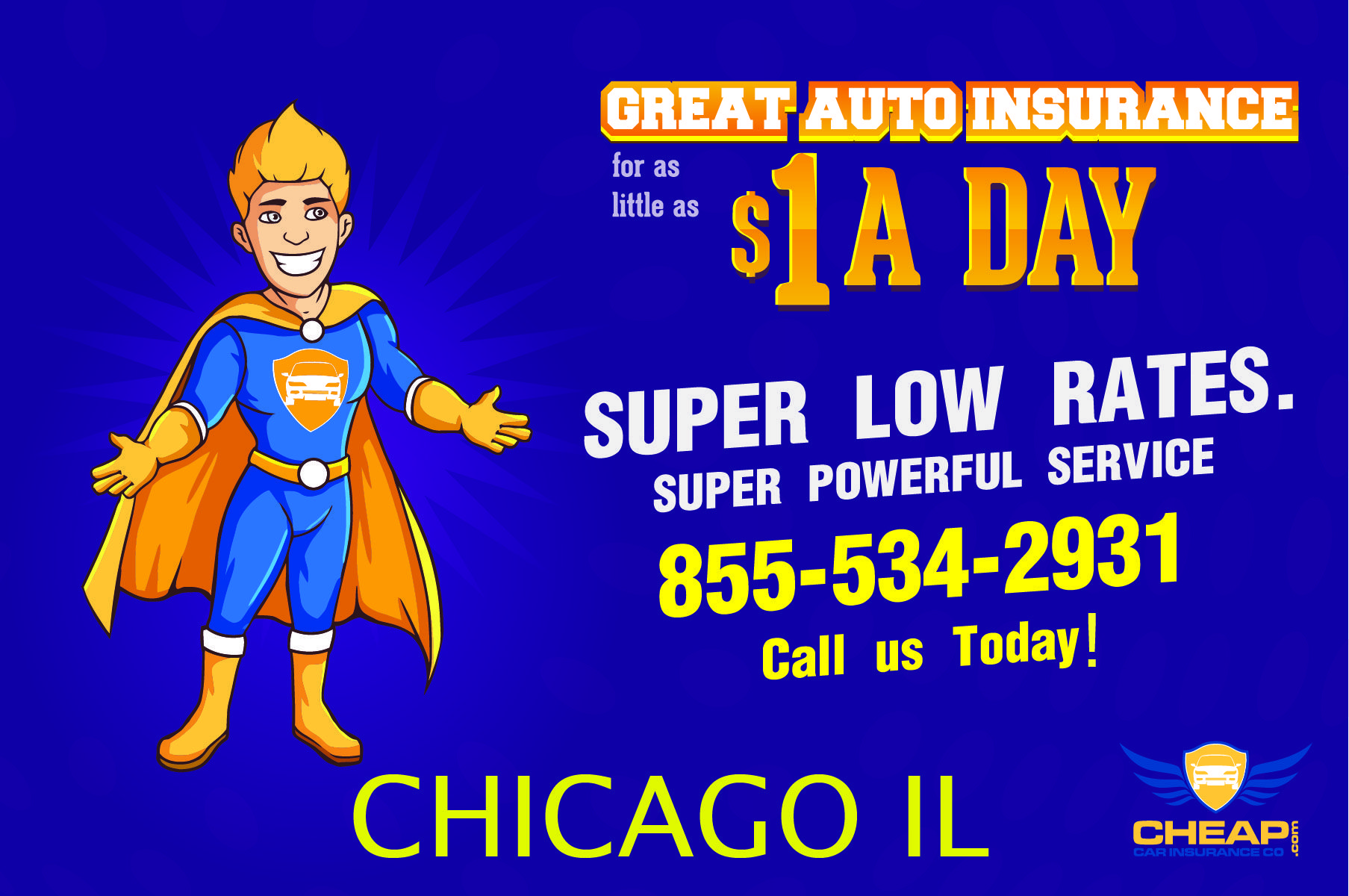 Cheapest Auto Insurance Chicago Illinois 50 Less On All Your
