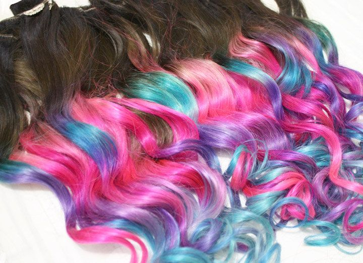 Custom ombre dip dyed hair clip in hair extensions tie dye tips custom ombre dip dyed hair clip in hair extensions tie dye tips brunette pmusecretfo Image collections