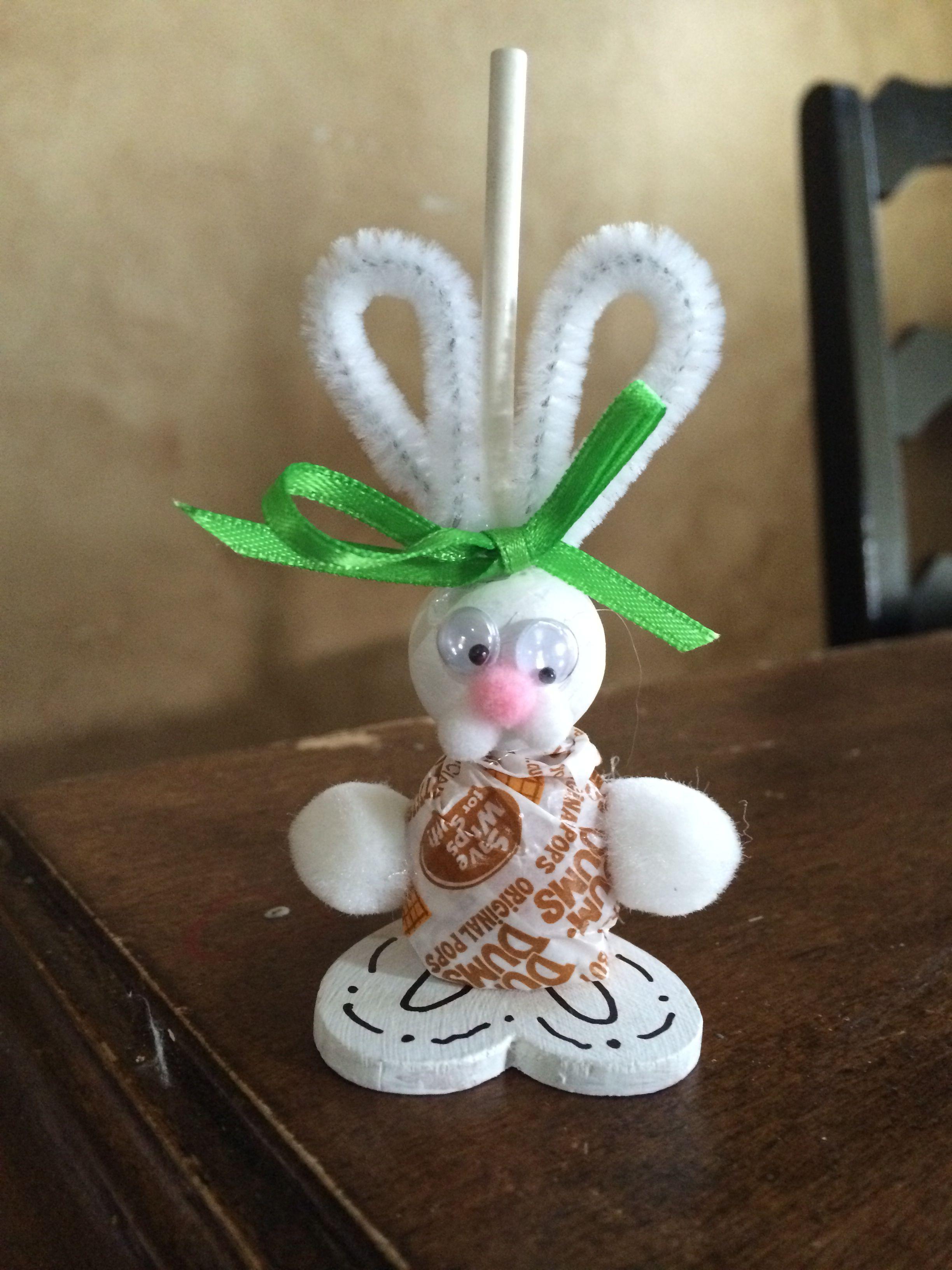 Easter bunny craft diy for school church arty favor