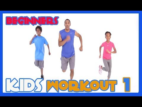 kids workout 1 beginners  youtube in 2020  exercise for