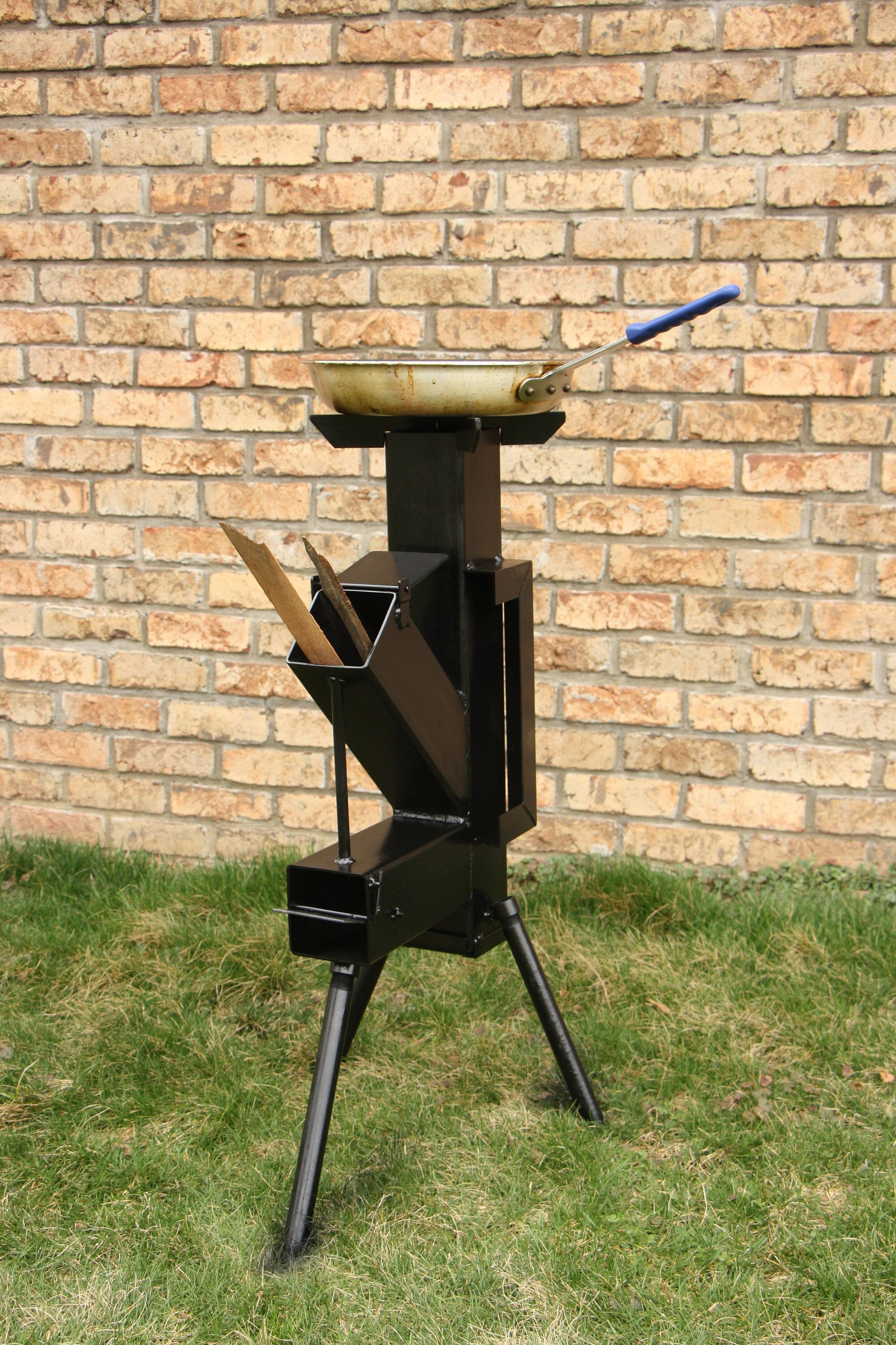 Rocket Stove, Camping Stove, Survival wood stove 24912 in