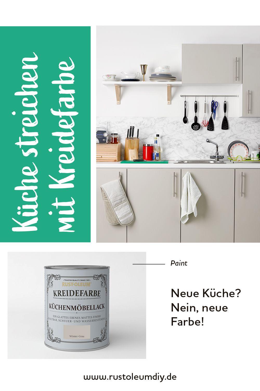 Kreidefarbe Küchenmöbellack Küchenfronten Umgestalten Küche Umgestalten Küchenfronten