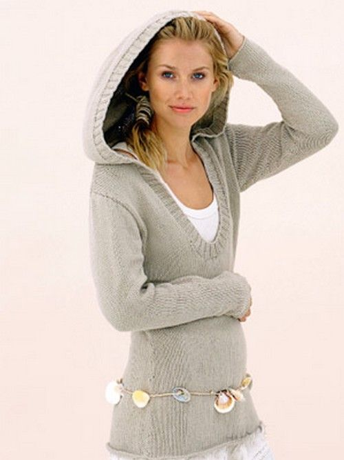 Ladies Sweater | Buzos gorro | Pinterest