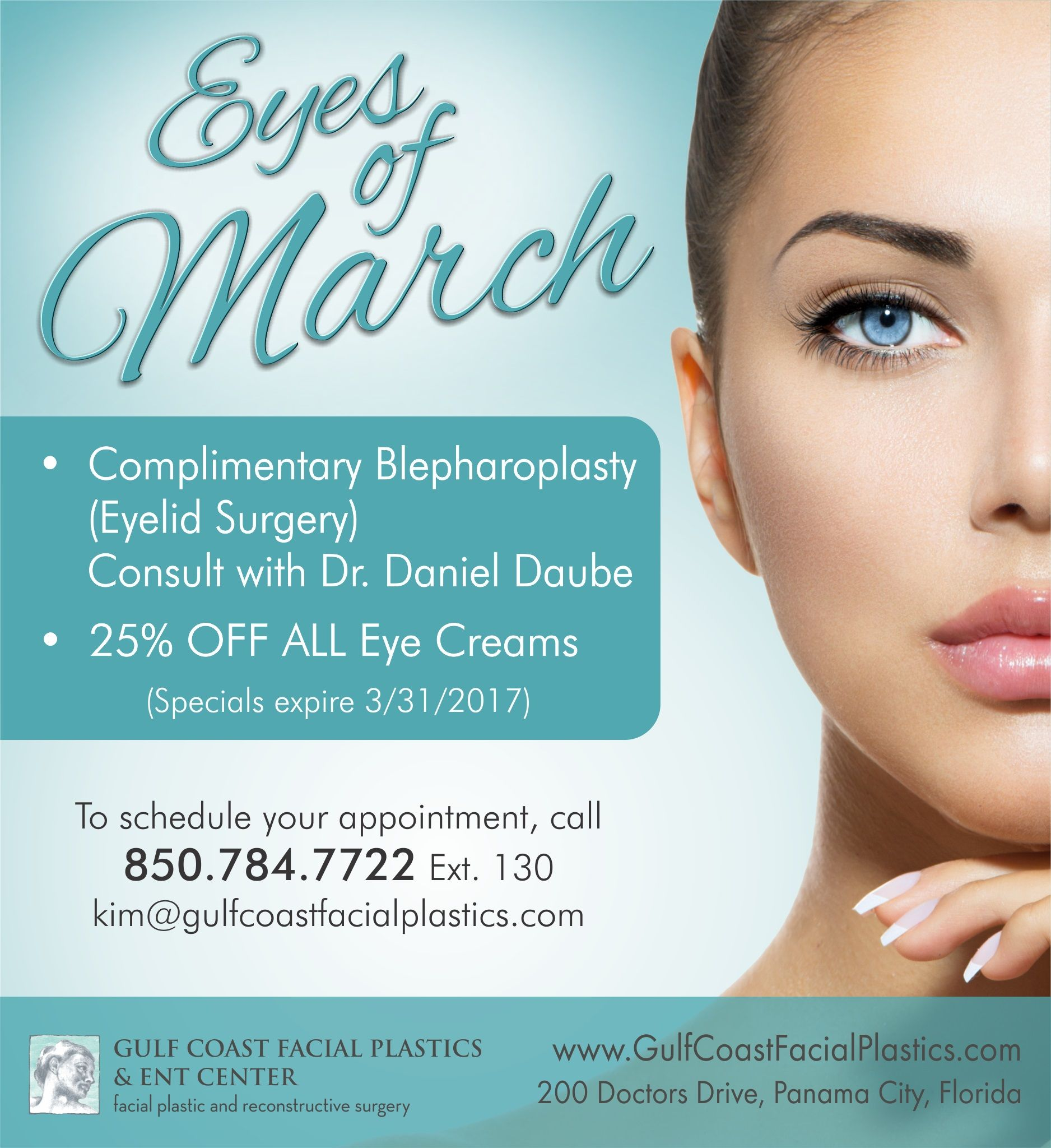 Thinking About A Belpharoplasty Eyelid Surgery Call Today To Set Up Your Consult 850 784 7722 Ext 130 Facial Plastic Eyelid Surgery Reconstructive Surgery