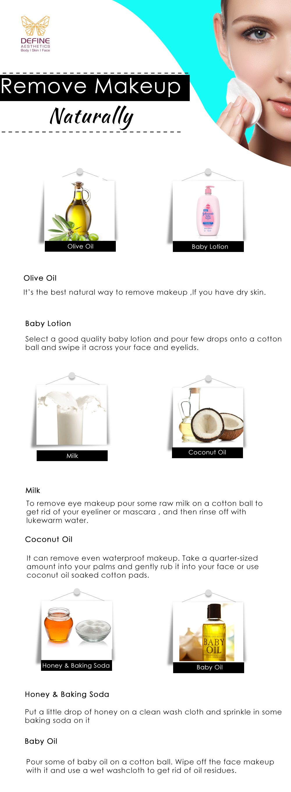 You can make your own DIY makeupremover at home using