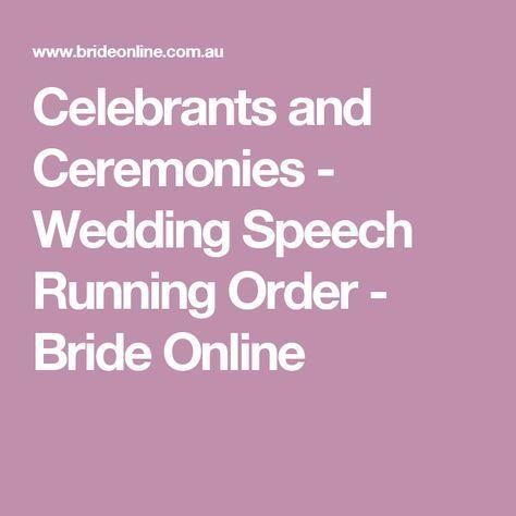 Wedding Speech Running Order Wedding Speech Wedding Toast Samples Best Man Wedding Speeches