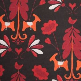 Add stylistic touches to any trendy interior space with this superb cotton print! Composed of a larger-scaled floral print, this cotton woven is both charming and decorative. Of a lighter weight and without a backing, this material can easily be used for drapery applications, home decor and very small upholstery projects. It is even light enough to be used for fashion applications such as bottoms and Spring/Summer jackets. The possibilities are endless!