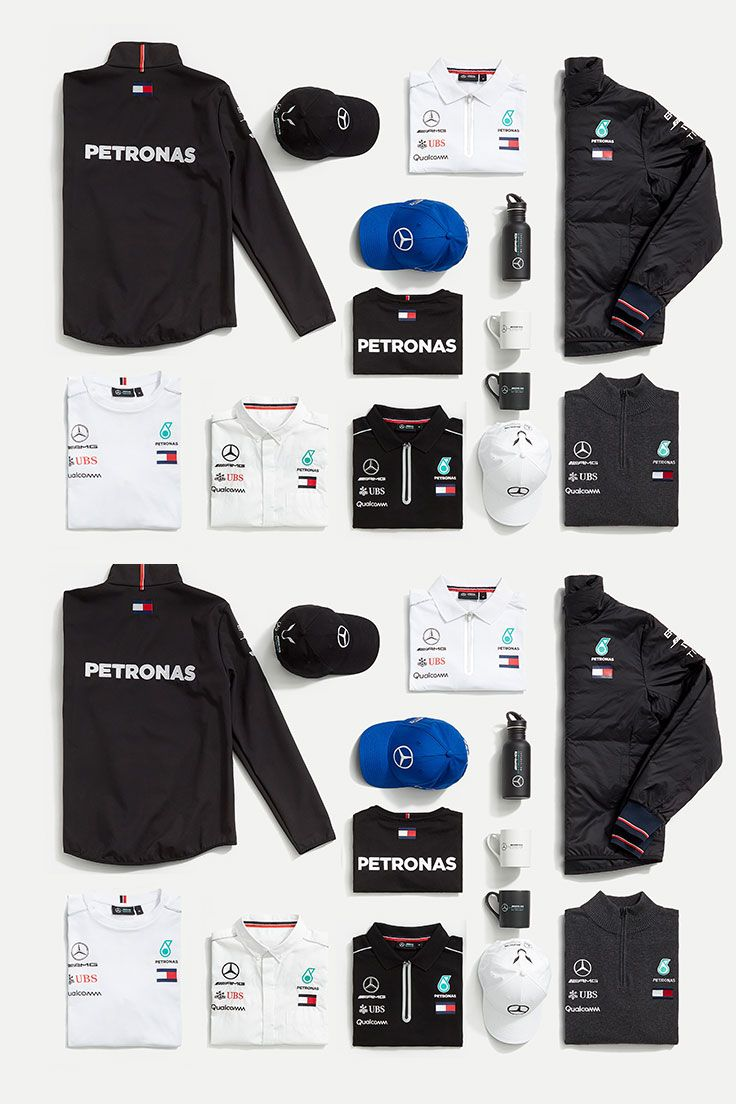 the mercedes amg petronas motorsport 2018 teamwear collection as worn by the team during the. Black Bedroom Furniture Sets. Home Design Ideas