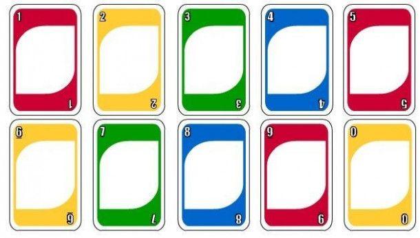 Blank Uno Card Template 1st Boy Birthday Uno Cards 1st Birthdays