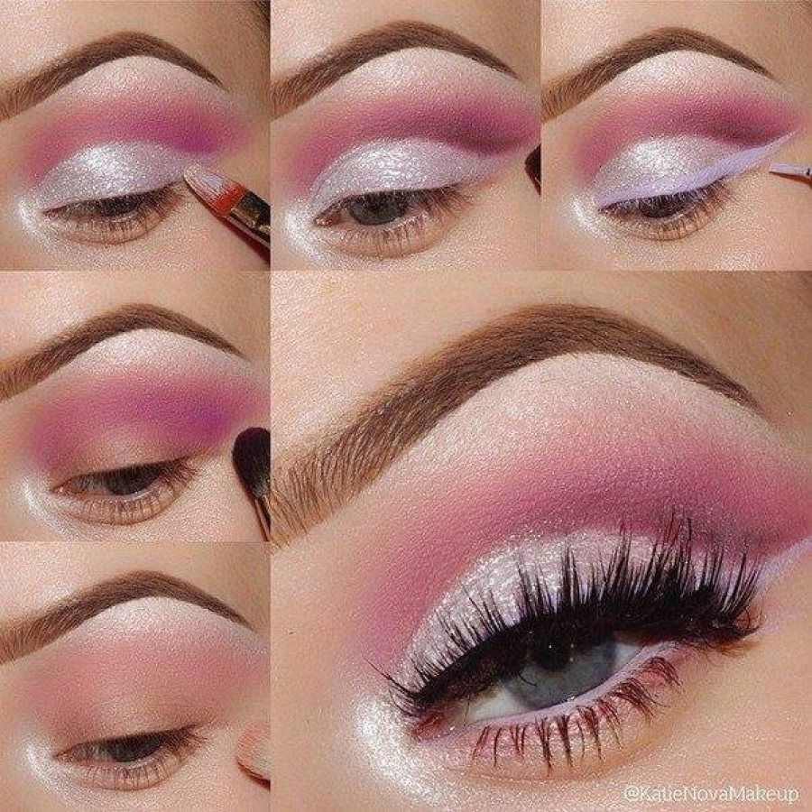 con Sombras rosadas para el día | Sombra rosa, Sombras y Maquillaje