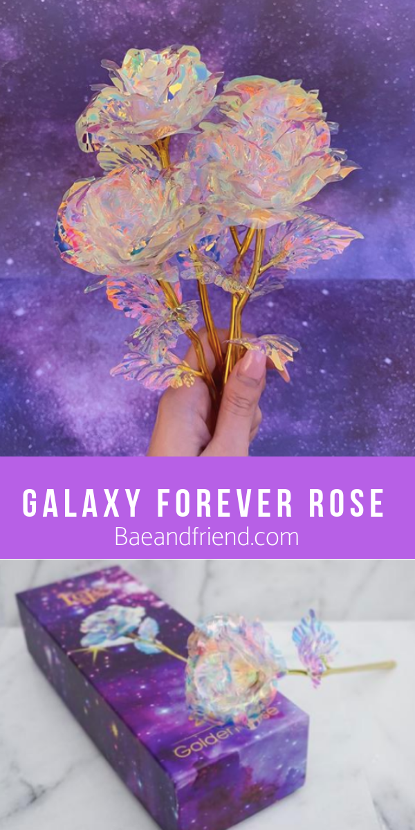 Galaxy Forever Rose In 2019 Gifts For Bae Forever Rose Unique