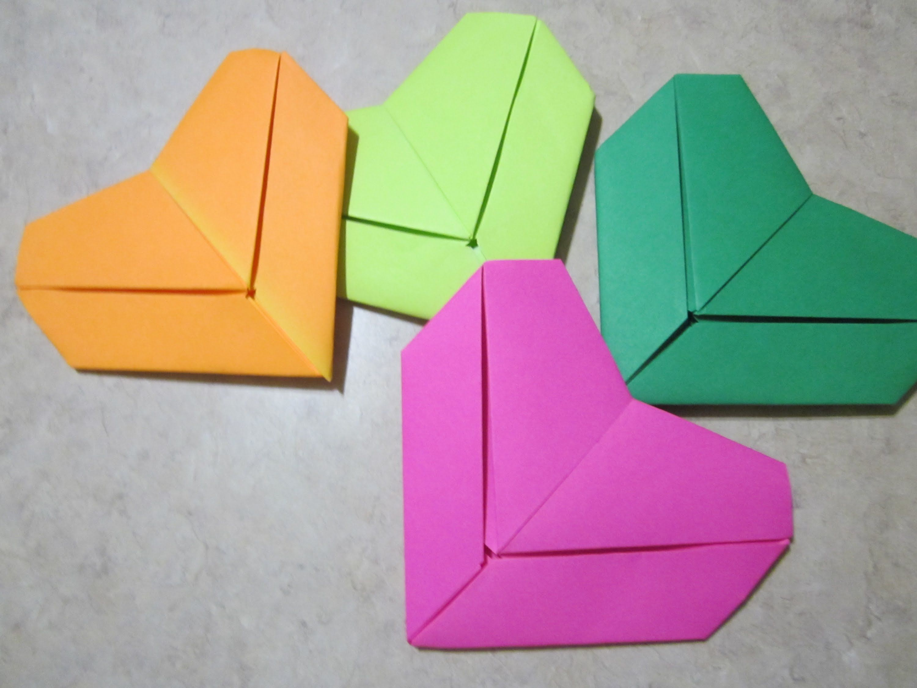how to fold a letter into a heart shape romantic
