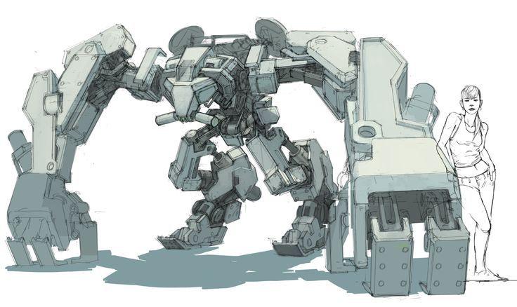 Vehicle Design Mecha Arte Robot Diseno De Robot Proyectos De Dibujo