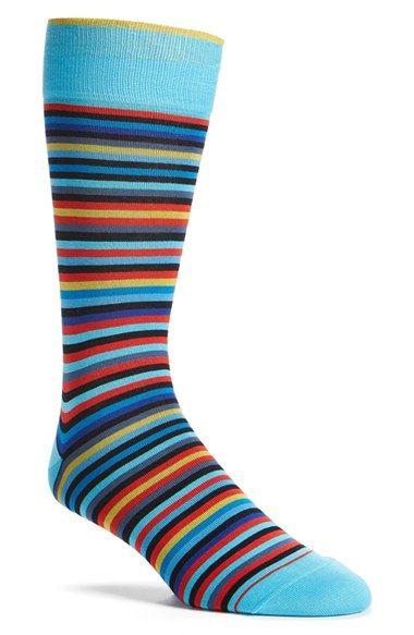 Bugatchi Stripe Socks Nordstrom Striped Socks Socks Stripe