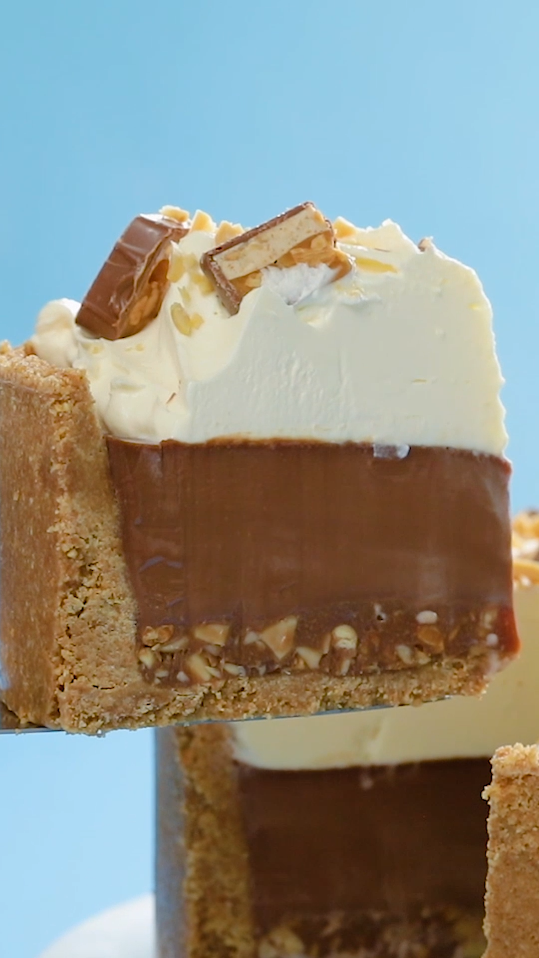 Tarte aux snickers