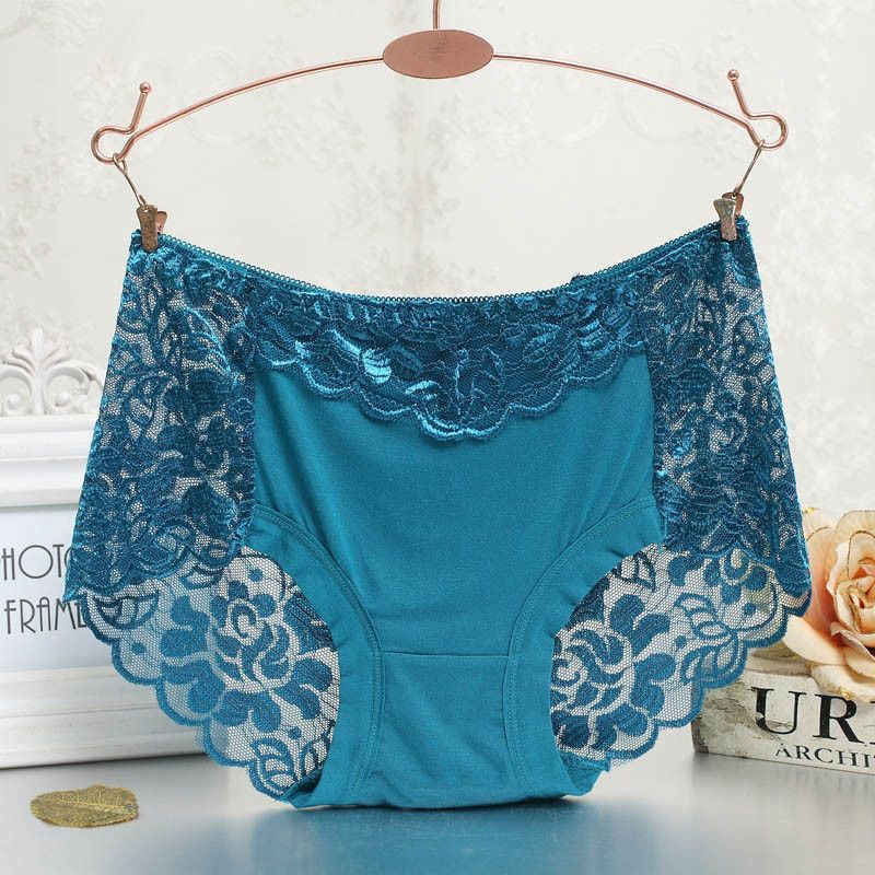 c59c4f7331f53 Women underwear briefs sexy women s Panties full transparent lace seamless  string plus size women underwear panty