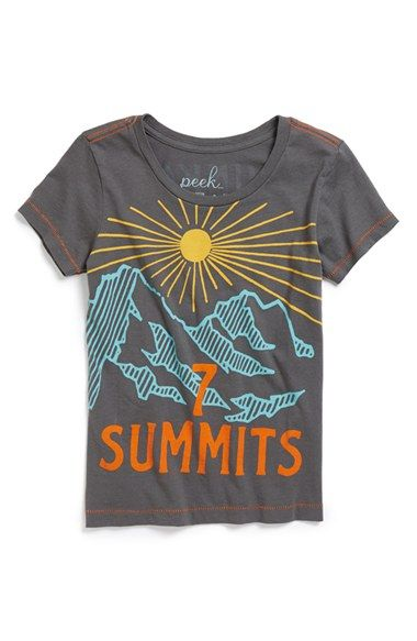 Peek 'Summits' Tee (Toddler Girls, Little Girls & Big Girls) available at #Nordstrom
