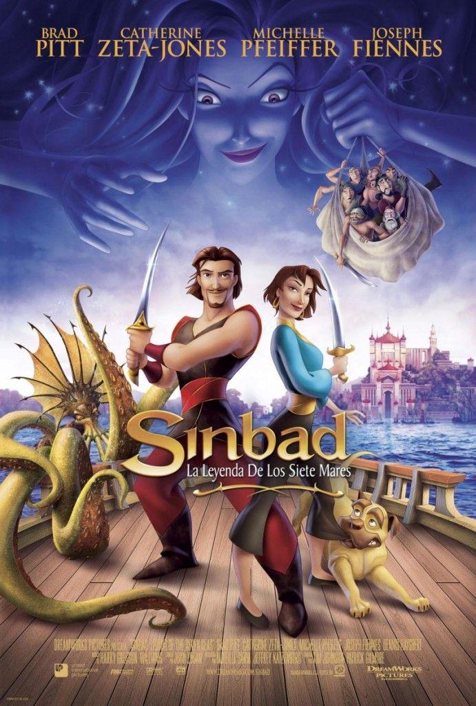 Sinbad Legend Of The Seven Seas 2003 Dreamworks Voices Brad