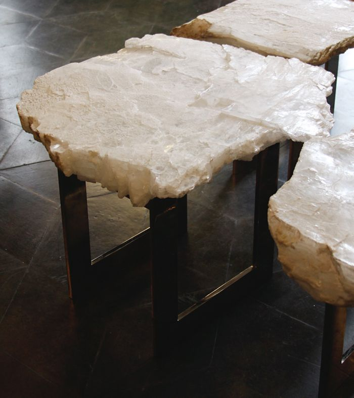 Crystal Furniture Decor Eclectic Gemstone Countertops Cool
