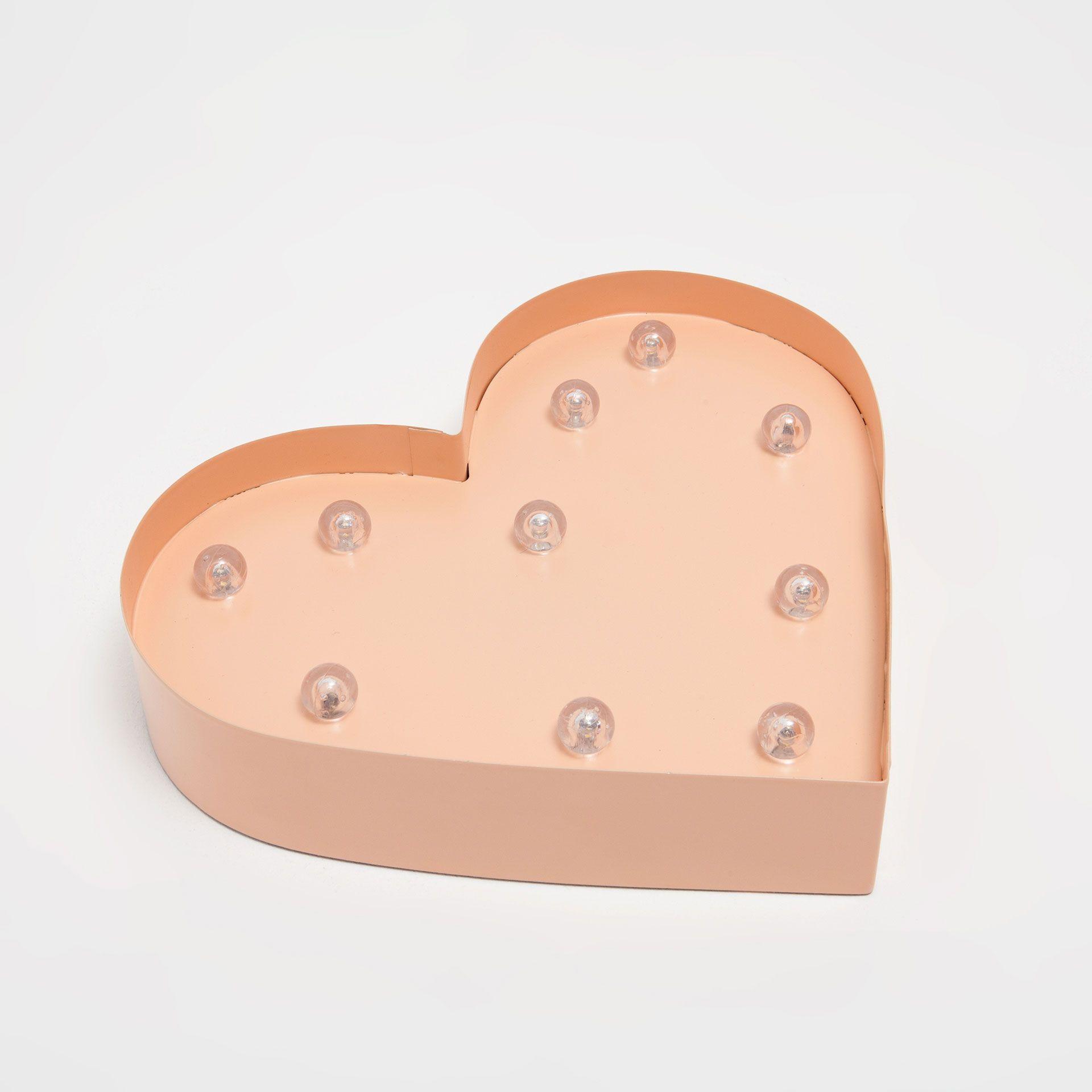 Billede 4 af produktet: Lampe formet som hjerte