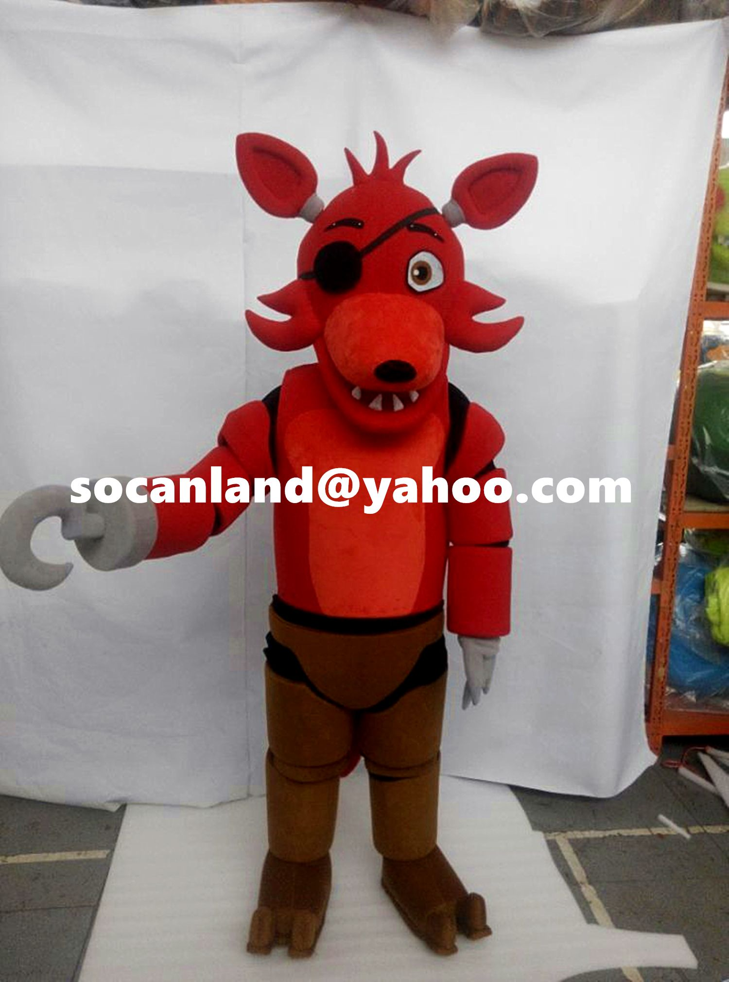 Fnaf bonnie costume for sale - Fnaf Foxy Mascot Costume Fnaf Foxy Cosplay Costumes Fnaf Foxy Adults Costumes Fnaf