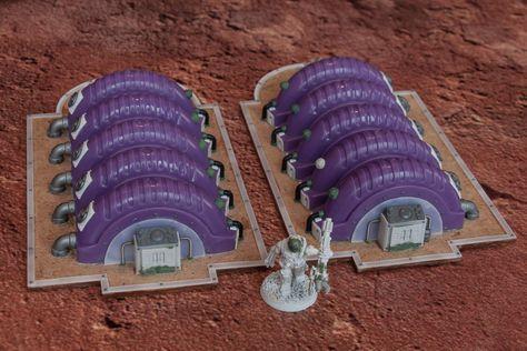 Tharses Project - EN: Mechanicus terrain #wargamingterrain