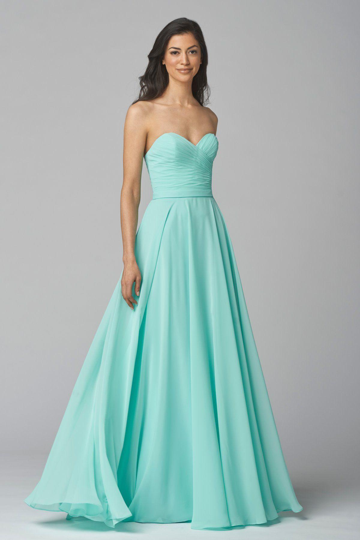 Wtoo Maids Dress 903 | MILLS/BOUFFARD WEDDING | Pinterest