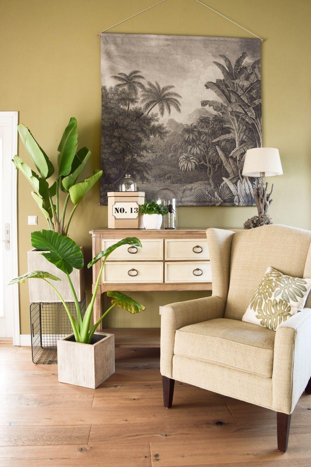 Mein neues Wohnzimmer: gemütlich, grün und mit einer Prise ...