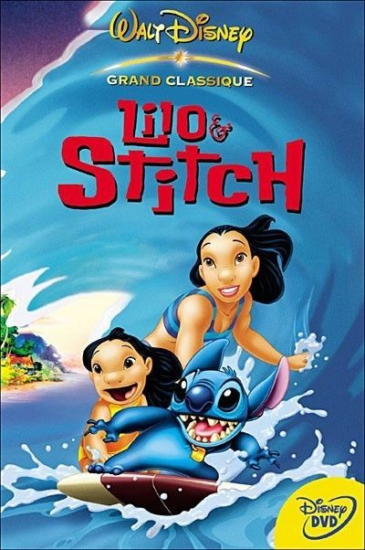 Walt Disney S Lilo And Stitch Dvd Movie Free Shipping Walt Disney Movies Disney Cartoons Lilo And Stitch Dvd