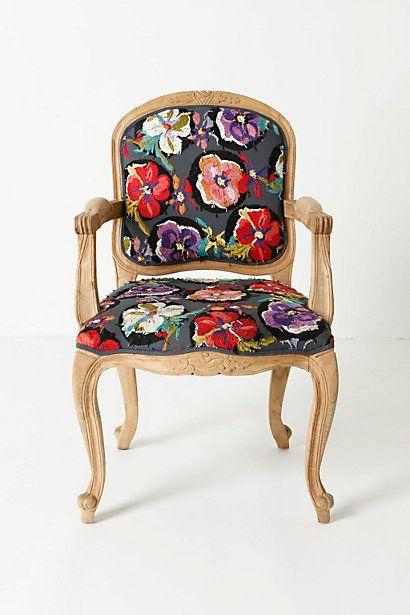 Grafton Chair Flora Dora Anthropologie