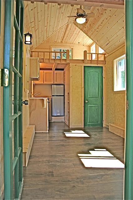 House tour inside this square foot by molecule tiny homes photos also best home ideas images log sweet rh pinterest