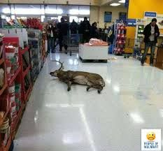 He had seen enough at Walmart !