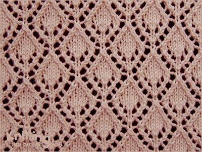 Eyelet Lace Stitches Knitting Stitch Patterns Just Make It