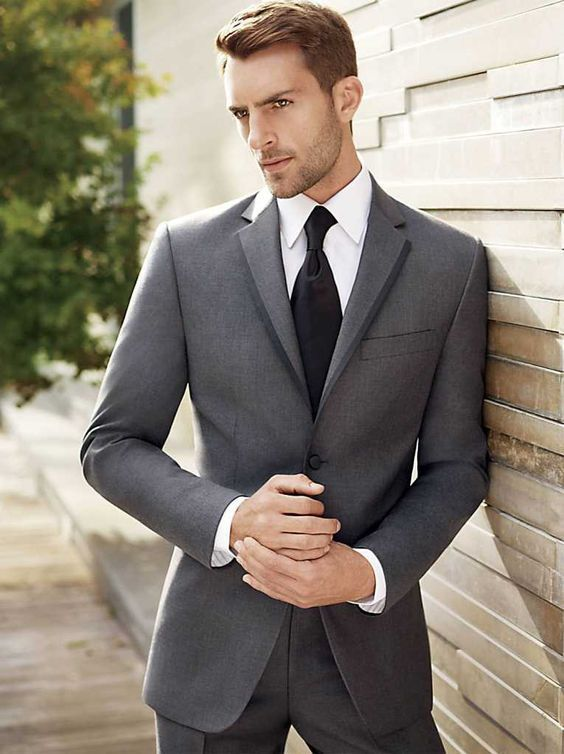 5 Must Have Suits in Every Man\'s Wardrobe | Formal, Charcoal gray ...