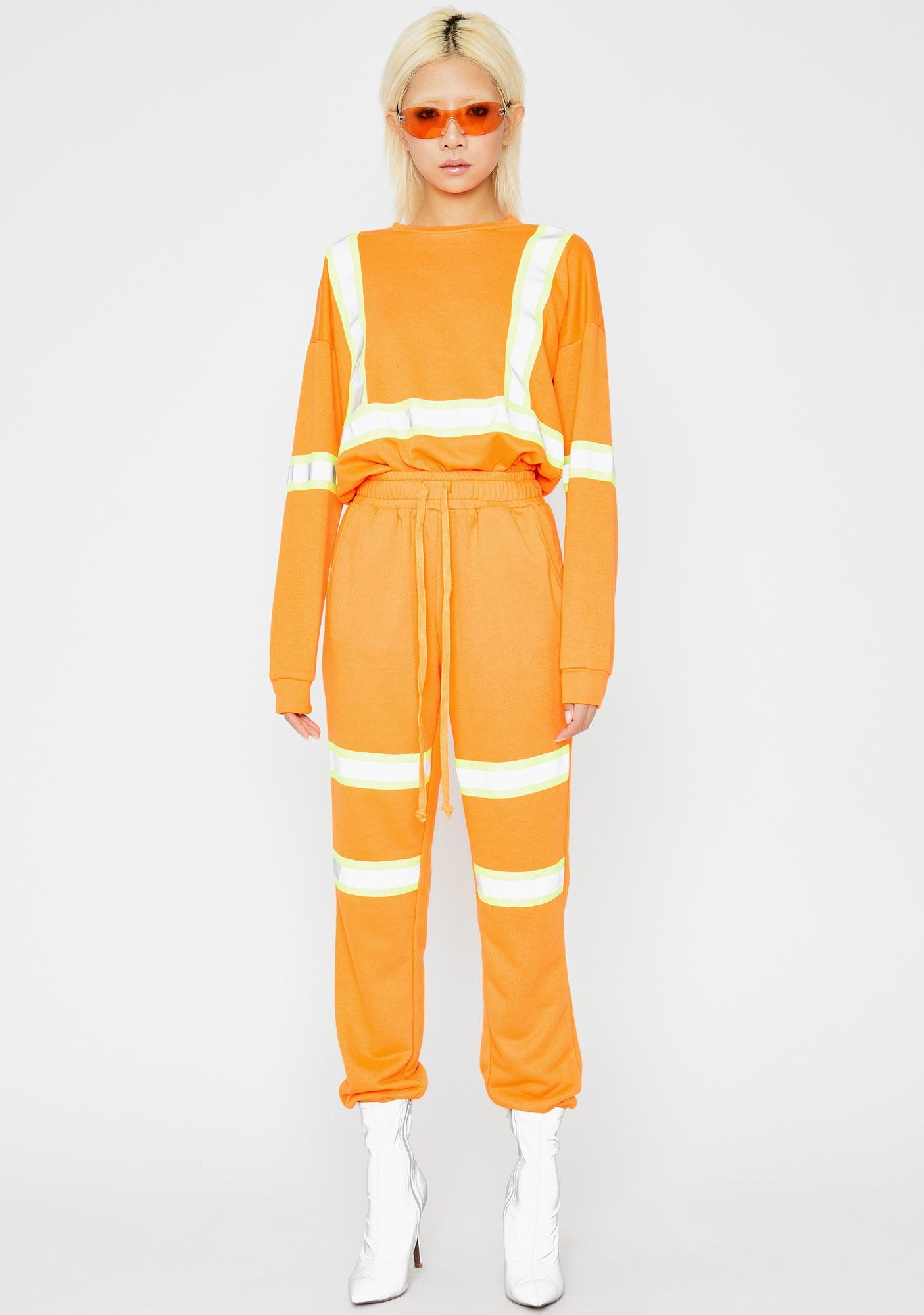 Juicy Bae At Werk Reflective Set Tops for leggings