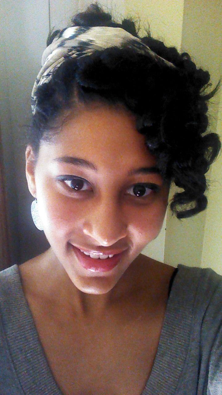 Pin curls !!!!
