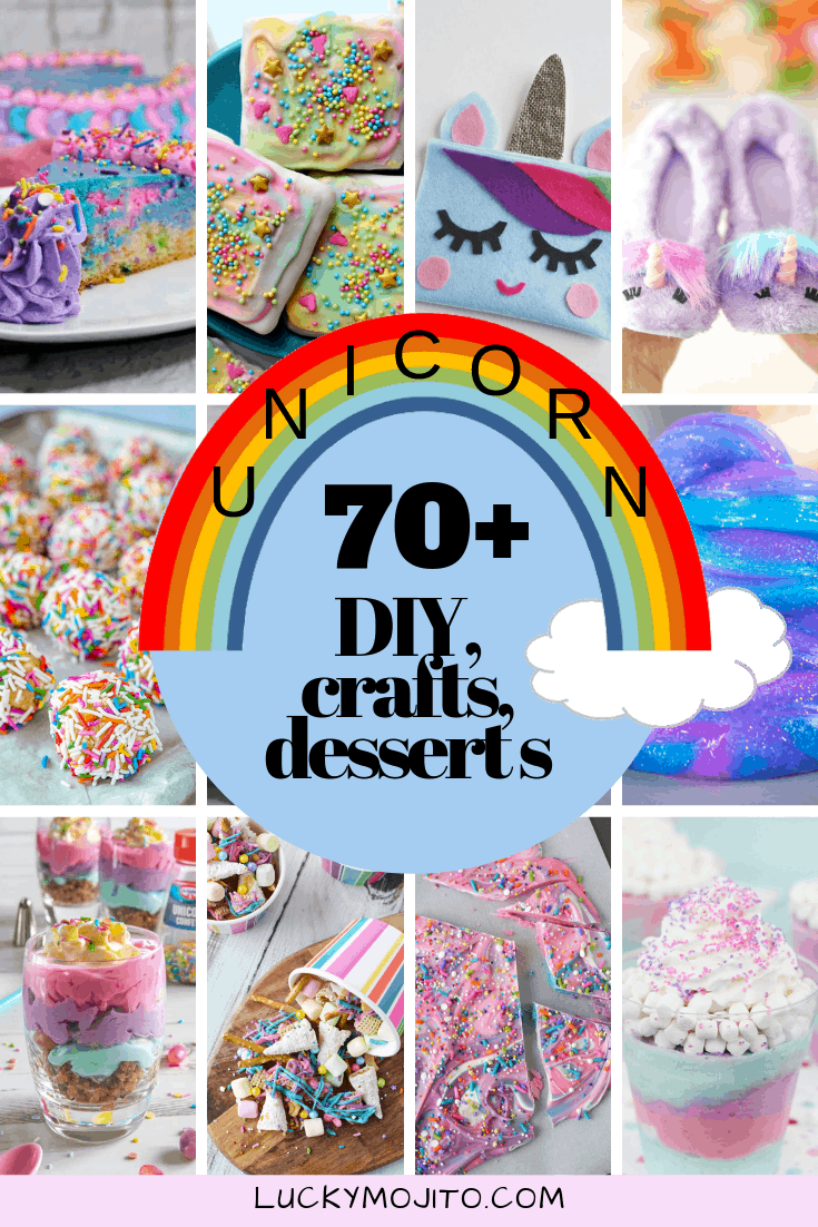 70+ Magical DIY Unicorn Crafts, Decorations, Desserts & More - Unicorn crafts, Crafts, Unicorn pumpkin, Diy unicorn headband, Unicorn decorations, Unicorn donuts - Unicorns are magical and super popular  If you're looking for DIY unicorn crafts, decorations, desserts and more prepare to be amazed
